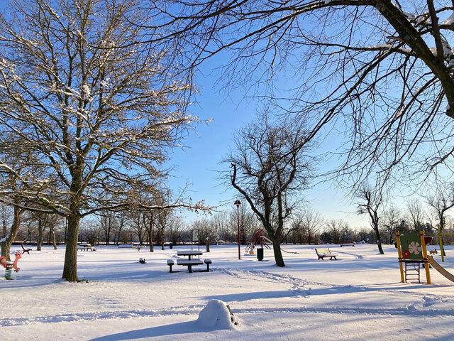 Behren-lès-Forbach sous la neige (2021)